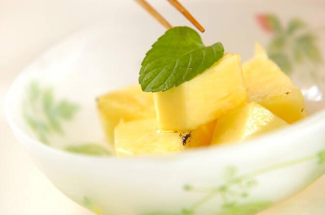 バニラ風味のパイナップルの作り方の手順4