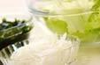レタスのかき玉汁の下準備1