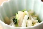 長芋と貝柱の甘酢和え