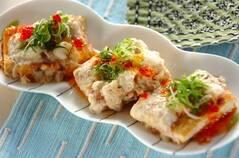豆腐のトロロ焼き