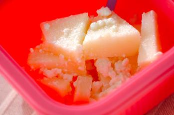 リンゴのハニーチーズ和え