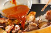 ナス鶏丼の作り方3