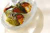 大葉のアナゴ寿司の作り方の手順