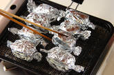 大葉のアナゴ寿司の作り方3