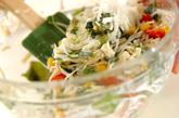 大根とホタテの混ぜまぜサラダの作り方1