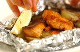 甘塩鮭のホイル焼きの作り方2