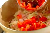 トマトのパスタの作り方2