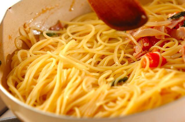 トマトのパスタの作り方の手順8