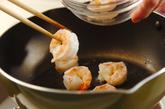 豆腐入りエビチリの作り方1