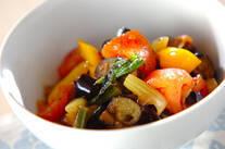 夏野菜のくったり煮