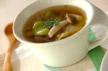 ソラ豆のスープ