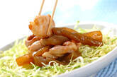 板コンと鶏肉の炒め煮の作り方3