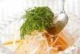 大根とチーズのサラダの作り方1