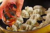 エビ入り焼き餃子の作り方9