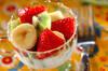 ビタミンたっぷりフルーツヨーグルトの作り方の手順