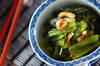 小松菜の甘酢和えの作り方の手順
