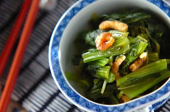 小松菜の甘酢和え