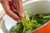 小松菜の甘酢和えの作り方3