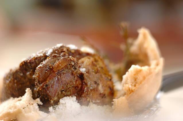 牛タンの塩包み焼きの作り方の手順6