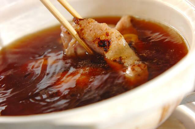炙り鶏ちり鍋の作り方の手順9