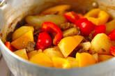 カレー肉ジャガの作り方8