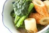 小松菜のサッと煮