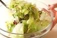 レタスの和風サラダの作り方1