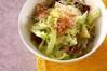 レタスの和風サラダの作り方の手順