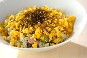 キュウリのサラダ寿司
