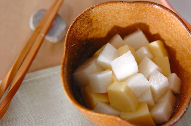 卵豆腐の長芋添えの画像