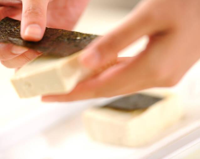 豆腐の蒲焼き香味ご飯のせの作り方の手順6