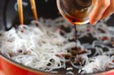 糸コンニャクのしば漬け炒めの作り方3