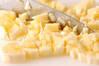 バナナカップの作り方の手順1