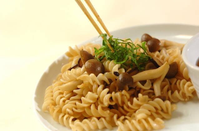 キノコパスタと野菜スープの作り方の手順9