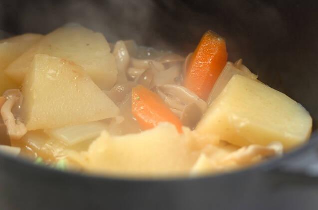 サーモンのクリームシチューの作り方の手順12