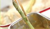 アスパラとエビのフライの作り方2