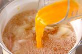 ハムのかきたま汁の作り方5