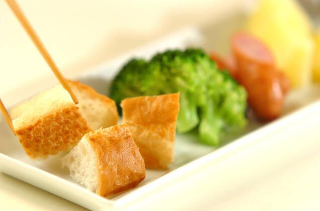 白みそチーズフォンデュの作り方の手順7