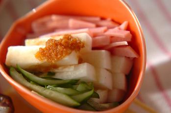 シャキシャキ長芋サラダ