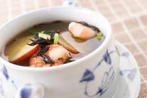 ひじきサツマイモのスープ