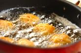 鶏肉の細切り衣揚げの作り方2