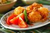 鶏肉の細切り衣揚げの作り方の手順