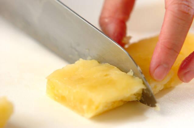 サツマイモきんつばの作り方の手順6
