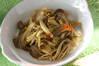 キノコのカレー炒めの作り方の手順