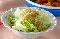 カリカリジャコサラダ