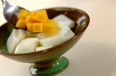 ミルクカンとマンゴーのデザートの作り方3