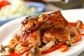 鶏もも肉のケチャップ焼