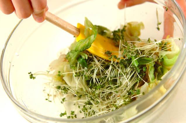 レタスのチーズ和えの作り方の手順5