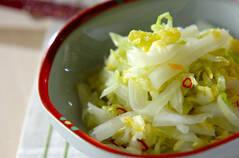 白菜の甘酢づけ