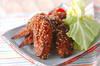 鶏手羽先の唐揚げの作り方の手順